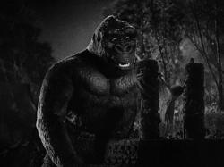 Apes are vegetarians, so why is Kong so excited to see Fay Wray?