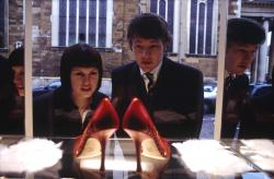 Sarah Jane Potts and Joel Edgerton in Kinky Boots.