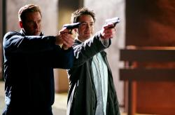Val Kilmer and Robert Downey Jr. in Kiss Kiss Bang Bang.