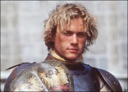 Heath Ledger in A Knight's Tale.
