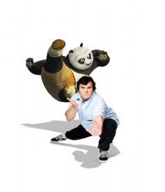 Jack Black returns as Po in Kung Fu Panda 2