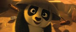 An adorable baby Po in Kung Fu Panda 2.