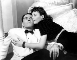 Henry Fonda and Barbara Stanwyck in The Lady Eve.