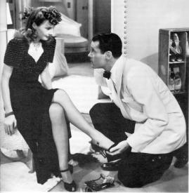 Barbara Stanwyck tempts Henry Fonda in The Lady Eve
