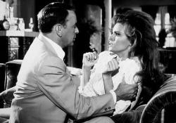 Frank Sinatra and Raquel Welch in Lady in Cement.