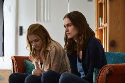 Chloe Grace Moretz and Keira Knightley in Laggies.