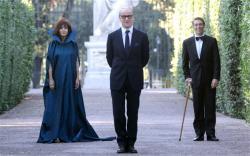 Sabrina Ferilli, Toni Servillo and Giorgio Pasotti in The Great Beauty.
