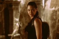 Angelina Jolie in Lara Croft: Tomb Raider.