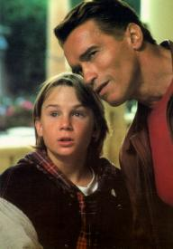 Austin O'Brien and Arnold Schwarzenegger in Last Action Hero