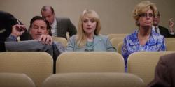 Kevin Kline, Dakota Fanning, and Susan Sarandon in The Last of Robin Hood.