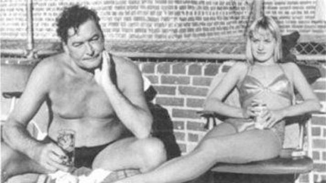 The real Errol Flynn and Beverly Aadland
