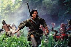Daniel Day-Lewis in Last of the Mohicans.