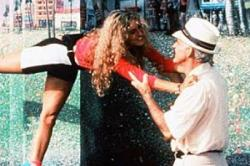Sarah Jessica Parker and Steve Martin in L.A. Story.
