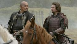 Ken Watanabe and Tom Cruise in The Last Samurai.
