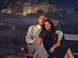 Van Johnson and Elizabeth Taylor in The Last Time I Saw Paris.