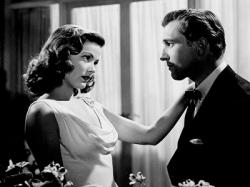 Gene Tierney and Vincent Price in Laura.
