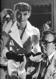 A star is born.  Audrey Hepburn with Alec Guinness in The Lavender Hill Mob