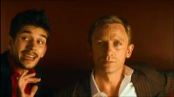 Ben Whishaw and Daniel Craig in Layer Cake.