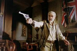 Sean Connery as Allan Quatermain in The League of Extraordinary Gentlemen.