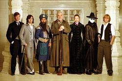 Jason Flemyng, Stuart Townsend, Naseeruddin Shah, Sean Connery, Peta Wilson, Tony Curran, and Shane West are The League of Extraordinary Gentlemen.