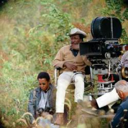 Gordon Parks directing The Learning Tree.