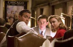 George Clooney, John Krasinski and Renee Zellwegger in Leatherheads.