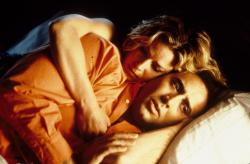 Elisabeth Shue and Nicolas Cage in Leaving Las Vegas.