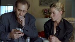 Nicolas Cage and Elisabeth Shue in Leaving Las Vegas.