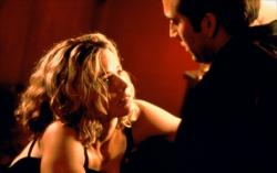 Elizabeth Shue and Nicolas Cage in Leaving Las Vegas