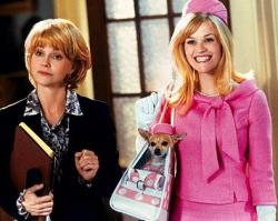 Sally Field and Reese Witherspoon in Legally Blonde 2: Red, White & Blonde.
