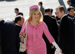 Reese Witherspoon in Legally Blonde 2: Red, White & Blonde.