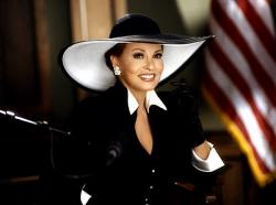 A 60 year old Raquel Welch in Legally Blonde.