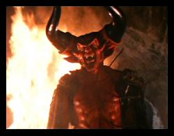 Tim Curry as Lord of Darkness in Legend.