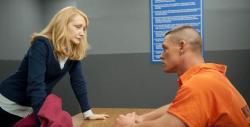 Patricia Clarkson demonstrates acting for John Cena in Legendary.
