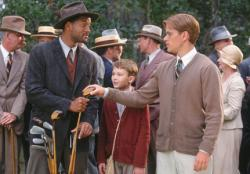 Will Smith and Matt Damon in The Legend of Bagger Vance.