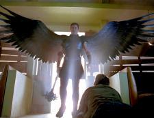 Gabriel makes an entrance in Legion.