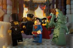 A motley assortment of characters in The Lego Movie.