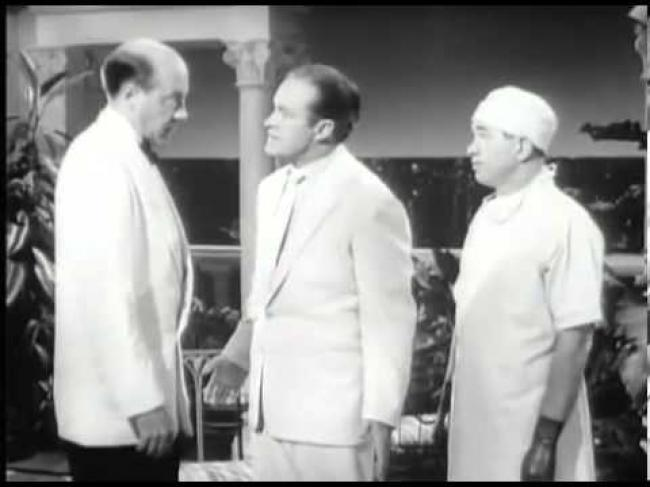 Fred Clark and Bob Hope in The Lemon Drop Kid.