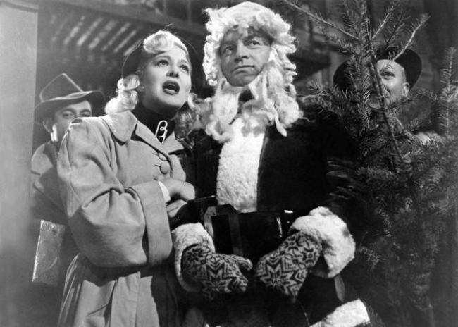Marilyn Maxwell and Bob Hope in The Lemon Drop Kid.