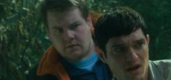 James Corden and Matthew Horne in Lesbian Vampire Killers
