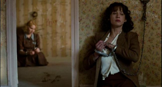 Gaëlle Lemenech and Sophie Marceau in Female Agents