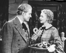 Nelson Eddy and Virginia Bruce.