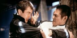 Mel Gibson and Jet Li in Lethal Weapon 4.