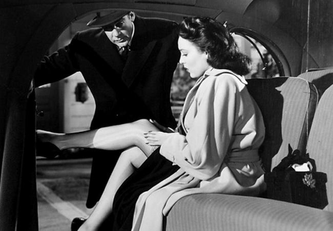 Paul Douglas and Linda Darnell in A Letter to Three Wives.