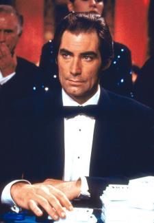 Dalton as a secret agent, 007.