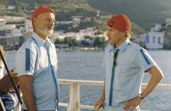 Bill Murray and Owen Wilson in The Life Aquatic with Steve Zissou.