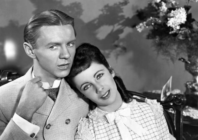 Jimmy Lydon and Elizabeth Taylor in Life with Father