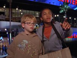Jonathan Lipnicki and Lil Bow Wow in Like Mike.