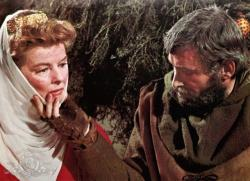 Katharine Hepburn and Peter O'Toole in The Lion in Winter.