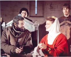 Peter O'Toole and Katharine Hepburn in The Lion in Winter.